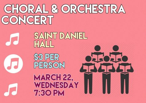 Choral and Orchestra Concert