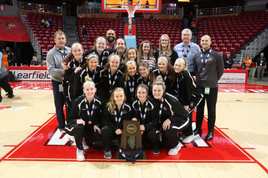 Girls basketball finishes incredible season with 4th in state