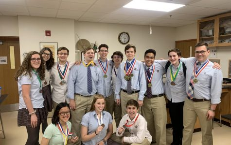 A Favorable Reaction: Benet's Science Olympiad Team Goes to State
