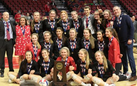 Girls Volleyball Earns 4th State Championship in 8 years