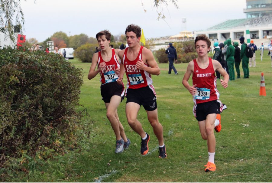 (from left to right): David Noroozi (3rd place), Ethan Baratta (5th), and Charlie Phelan (4th) Photo Credits: David Kay